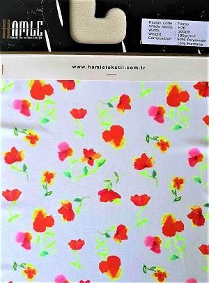 FLORES - lingerie fabric