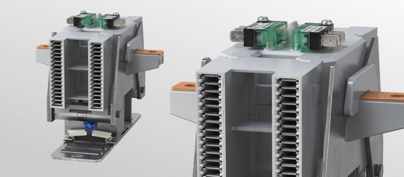 Schließer-Schütz AC / DC bidirektional - Einpolige kompakte Universalschütze - Schließer und Wechslere