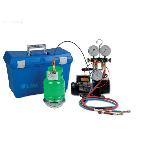 Vakuum- und Auflade-System Set, mit Kältemittelwaage... - Kälte Werkzeug