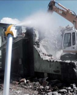 Solutions mobiles pour le traitement des poussières - solution mobile de dépoussiérage par brumisation