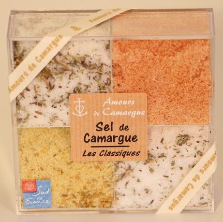 """COFFRET SEL FIN DE CAMARGUE """" CLASSIQUES N°1 """" - Epicerie salée"""