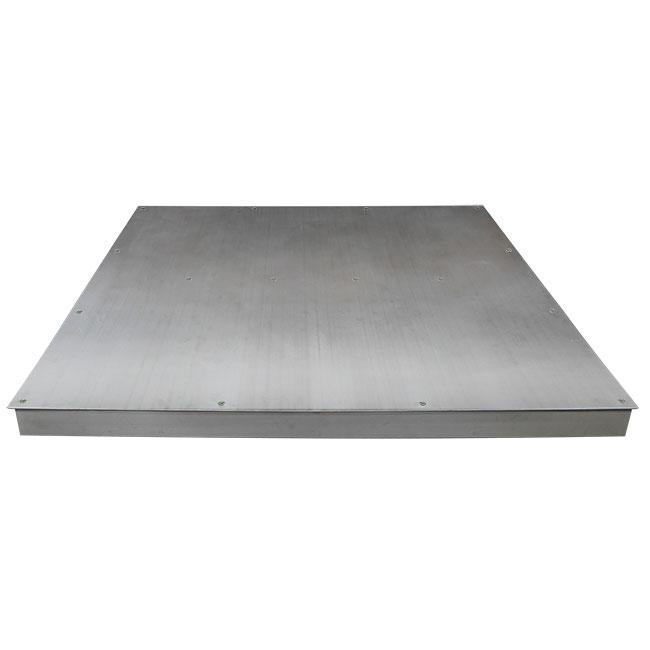 Serie 4EI - Plataformas de pesaje 4 células empotrables o sobresuelo
