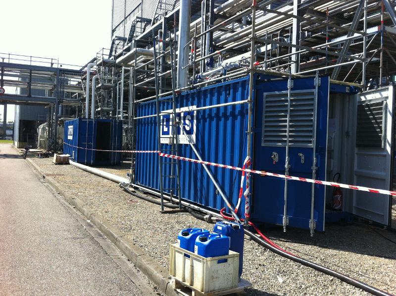 Chaudières mobiles  - Chaudières vapeur container 1,3t/h