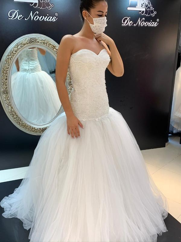 Zeus - Simple Weddingdress