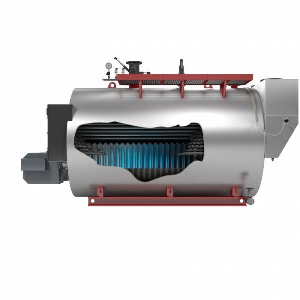 Heißwasserkessel - Typ UT-HZ - Heißwasserkessel / Öl / Flammrohr / Hochdruck