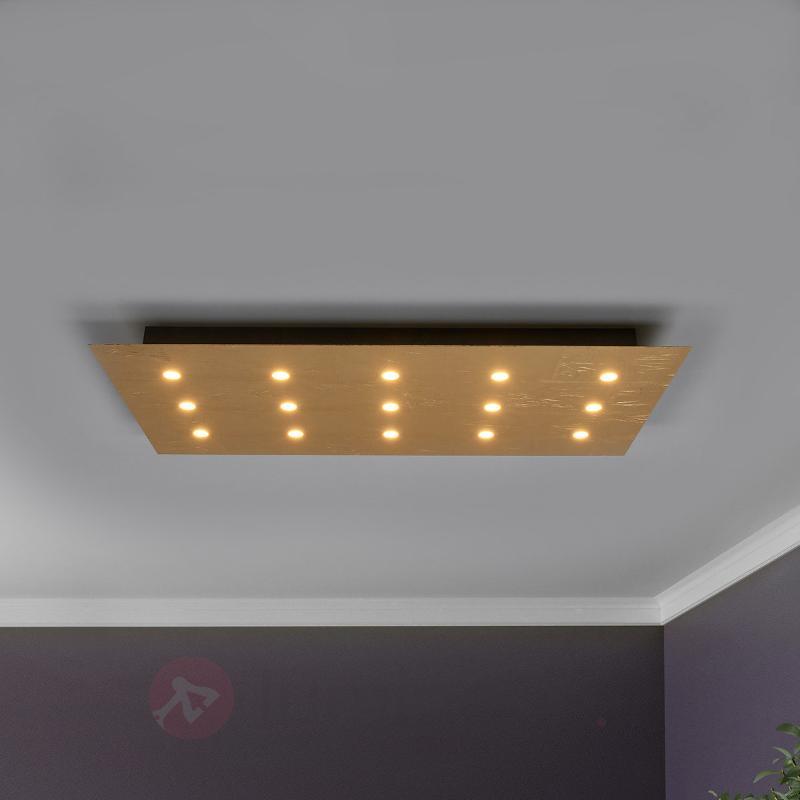 Avec 15 LED - plafonnier variable Juri - Plafonniers LED
