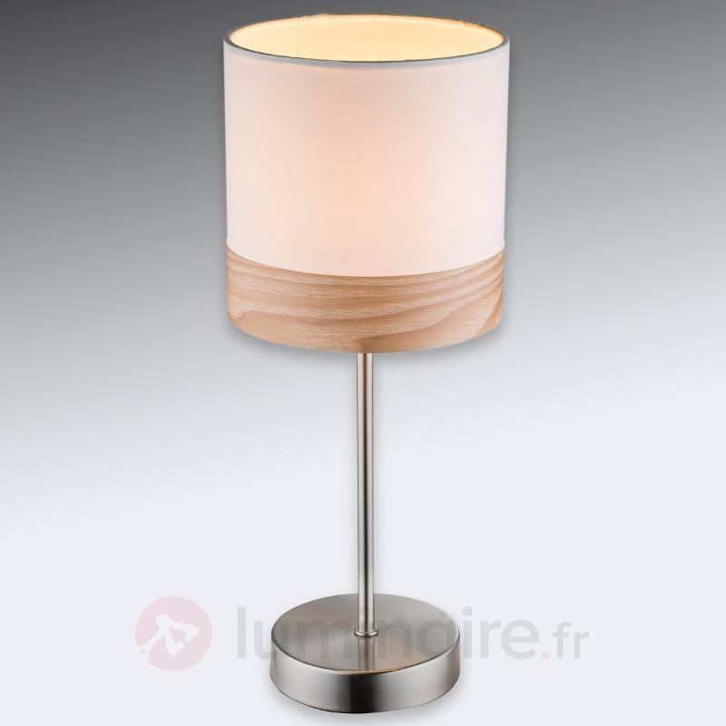 Petite lampe à poser Libba 35 cm - Lampes à poser en tissu