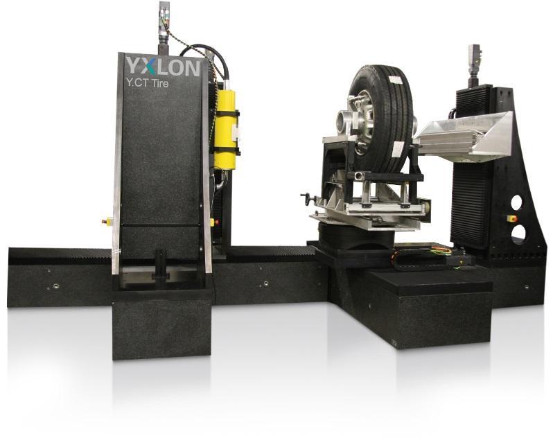 YXLON CT Tire - Industrielles CT-System