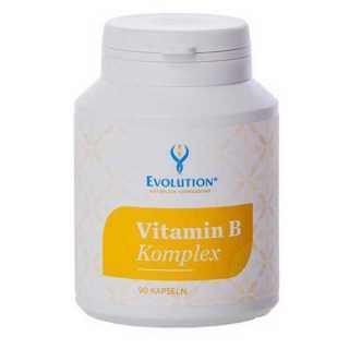 Vitamin B Complex 90 Capsules - null