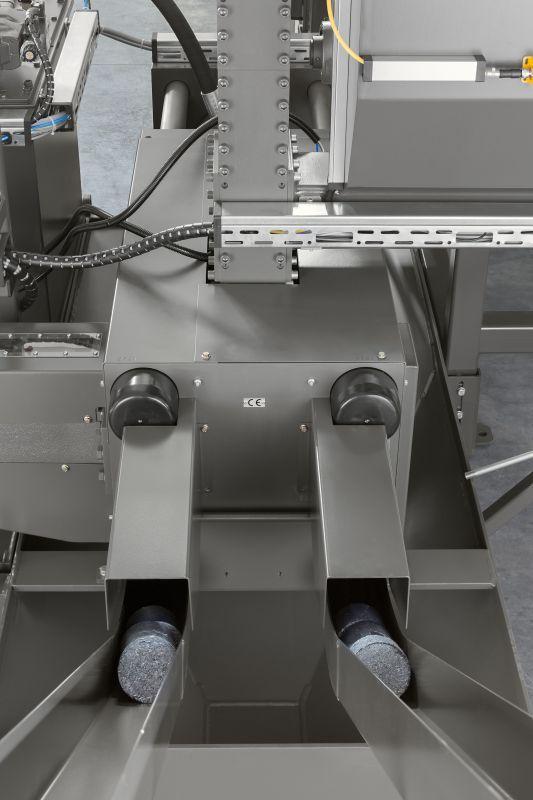 RUF Brikettierpresse für Metallspäne - Zum Verpressen von Metallspänen aus Aluminum, Stahl, Guss, Kupfer, Bronze, etc.