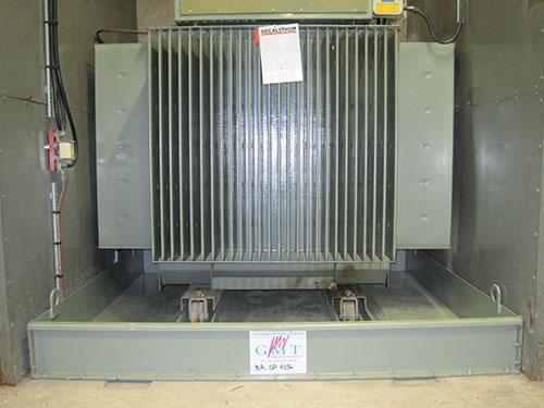 Bacs de rétention acier pour transformateurs électriques