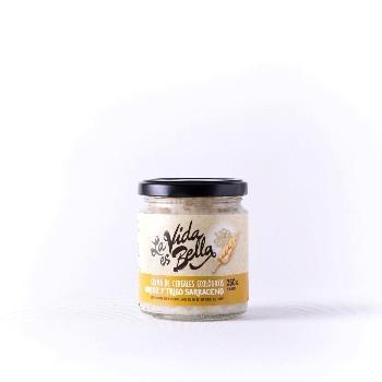 Crema de Arroz y Trigo Sarraceno ecologica - Desayuno macrobiotico