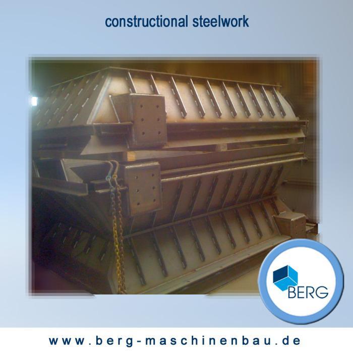 Des constructions en acier inox, métal, tôle - Nous produisons des constructions en acier inox & métal de toute nature