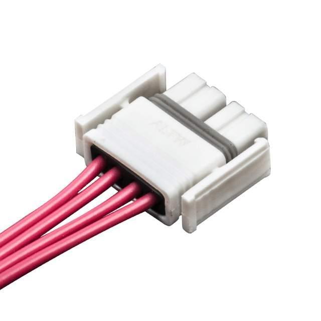 SSL1.2 WIRE ASSEMBLY,5A 4PIN, PL - Amphenol LTW SSL12-P4LP0-M20A04