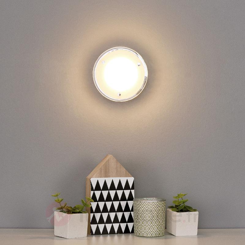 Applique LED ronde Sheldon - Appliques LED
