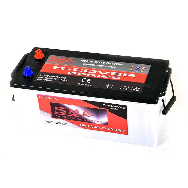 Batteria Autocarro MAC 180Ah destra - Batterie per mezzi pesanti