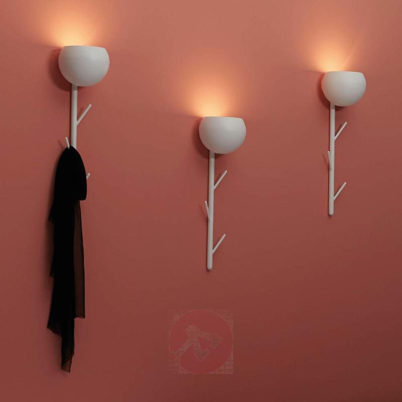 Wall light LED Cappero with coat hooks - Wall Lights