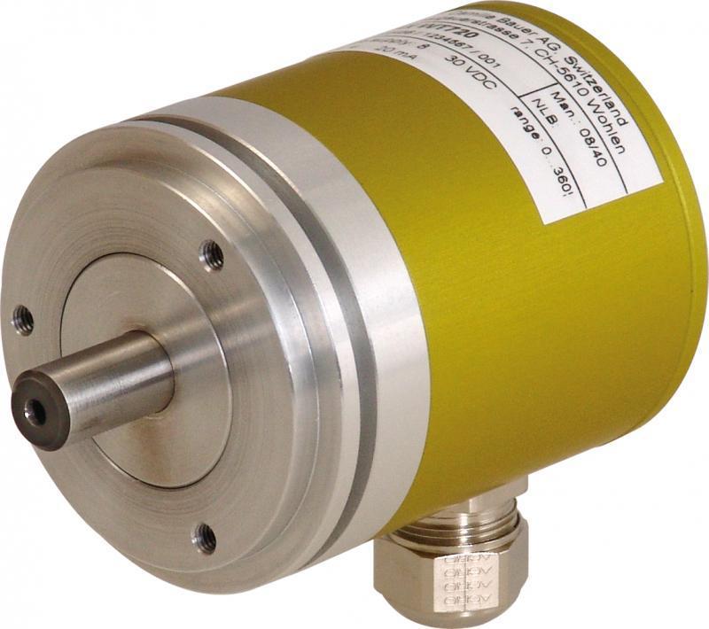 KINAX WT720 - Convertisseur de mesure angulaire d'arbres creux pour applications robuste