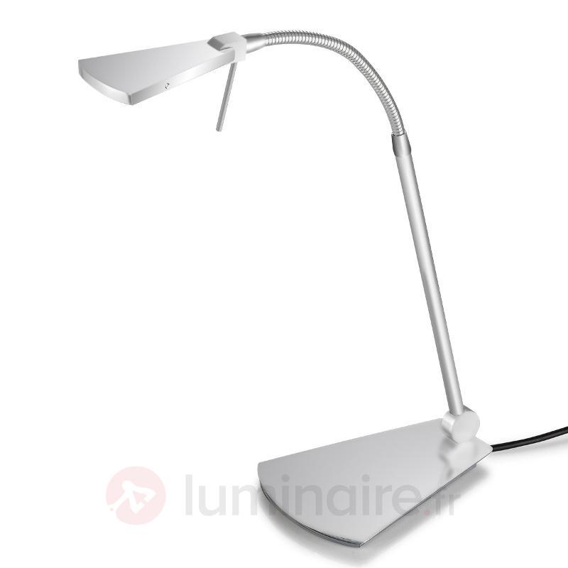 Lampe à poser LED Nec élégante à bras flexible - Lampes de bureau LED