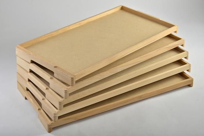 Starch Trays - Wooden Starch Trays For Confectionery Industry