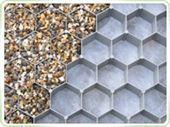 Stabilisateurs de gravier ou nid d'abeille - null