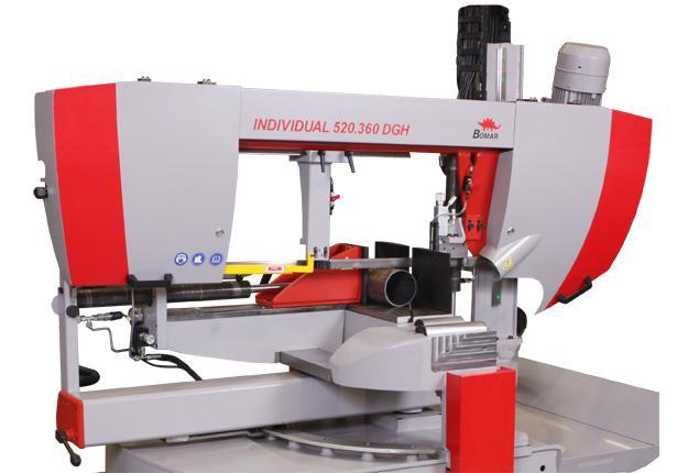 Scie à ruban semi-automatique  - INDIVIDUAL 520.360 DGH