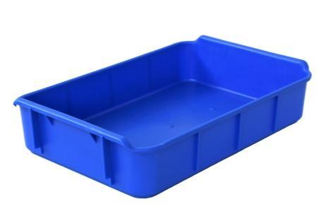 Caixas de plástico empilháveis -