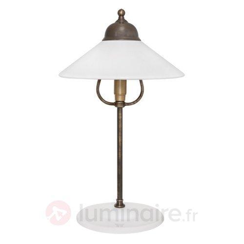 Belle lampe à poser Ike - Lampes à poser rustiques
