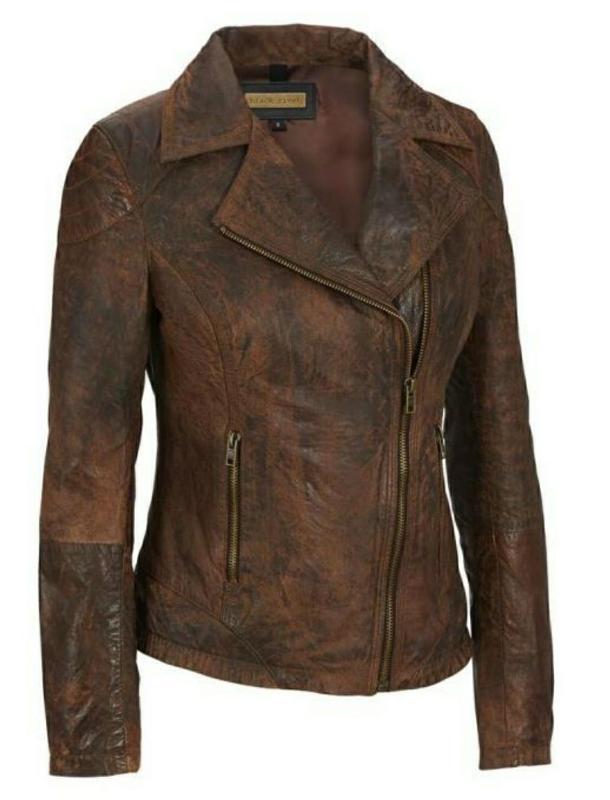 Jackline Leather Jacket - Ladies Jacket