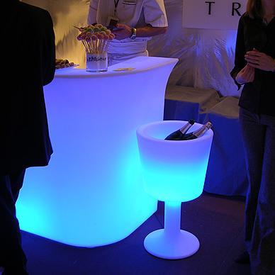 Location de seau à champagne XL - null