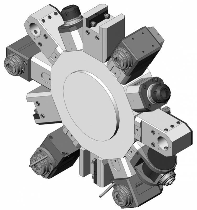 Angetriebene Werkzeuge Sauter Revolver VDI 40