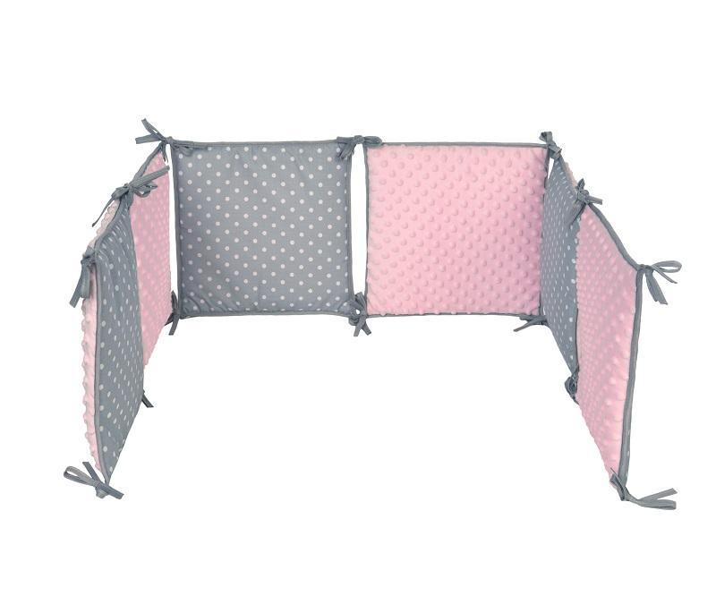 Ochraniacze na łóżeczko - Klasyczny i modułowy ochranicz na łóżeczko