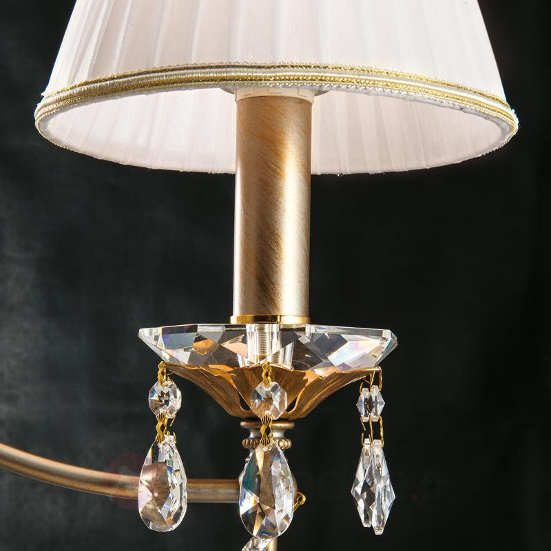 lustre miramare 3 lampes cristal de plomb lustres abat jour luminaire fr allemagne. Black Bedroom Furniture Sets. Home Design Ideas