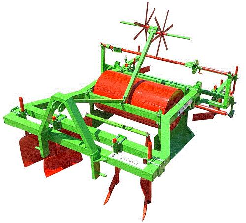 Bed shaper - mulch foil layer machine
