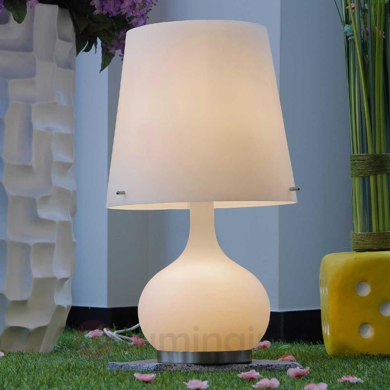 Lampe à poser ADE blanche 58 cm - Toutes les lampes à poser