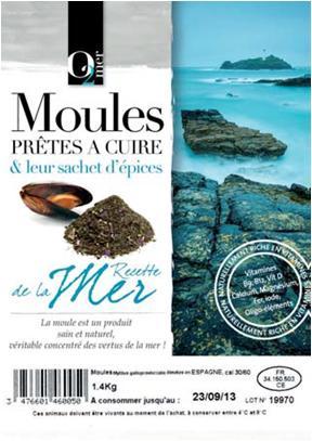 Moules Prêtes à Cuire & Leur Sachet D'épices Aux... - Produits de la mer