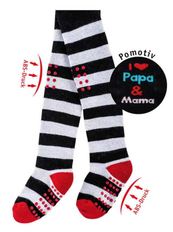 5769 - Crawling-Pantyhose - Warming full terry quality. Hand linked. With Anti-slip print on soles and knees