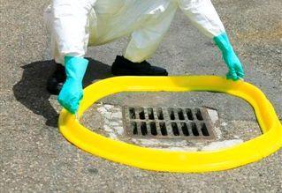 Barrage Anti-pollution En Polyuréthane - OBT BP300-Protection égouts de surfaces