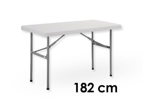 Tables - Buffet-Tisch (klappbar), 182 cm, grau