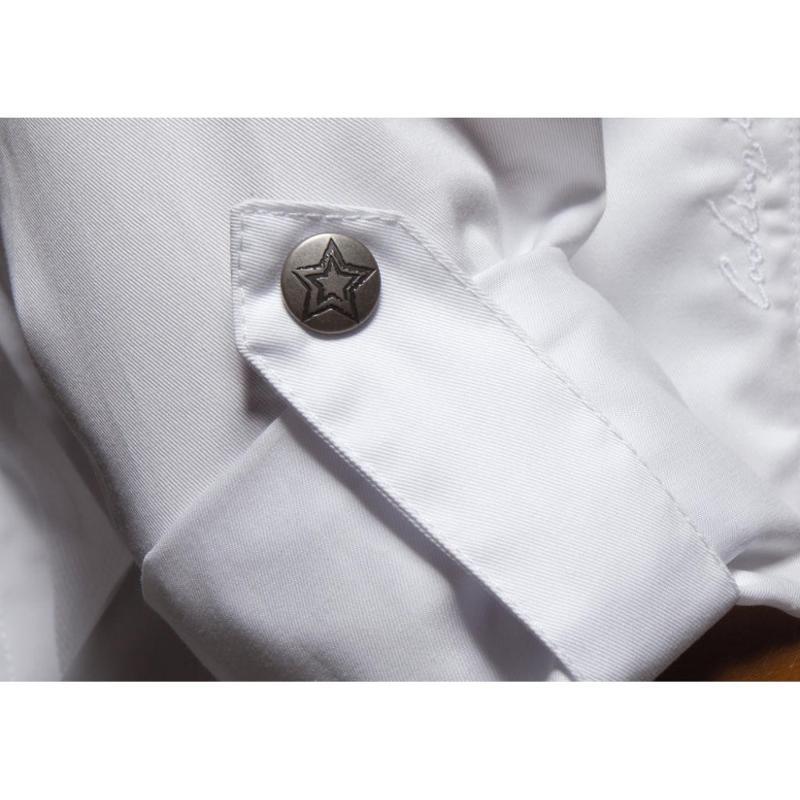 Veste chef homme - Zip - Vêtements