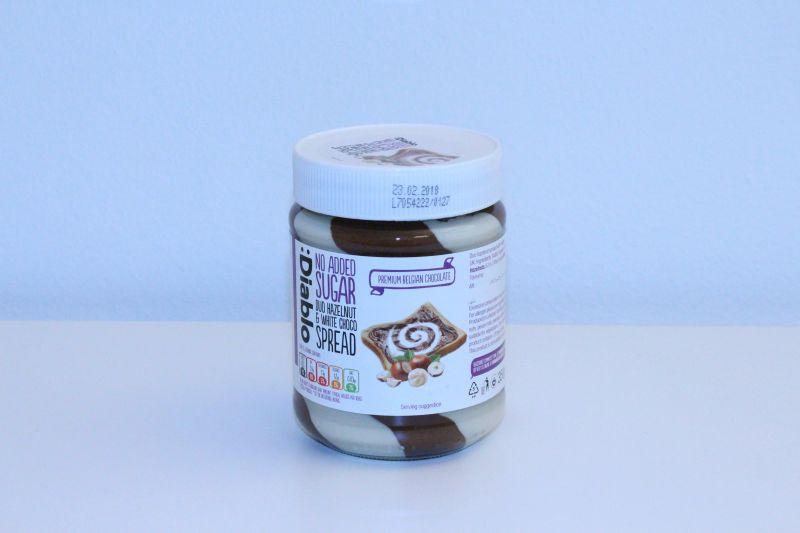 DIablo Duo Hazelnut & White Choco Spread No Added Sugar -