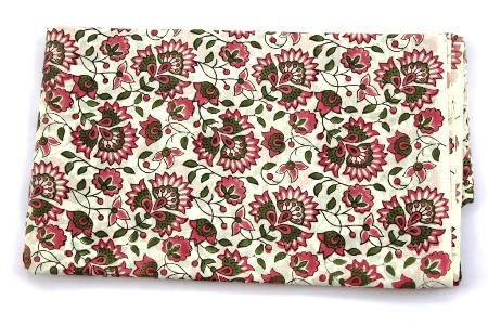 100% cotton fabric indian hand block print fabric