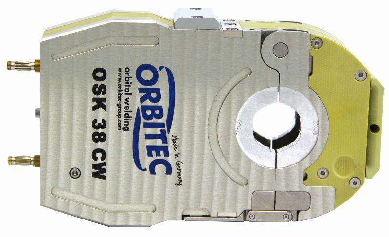 Gas- and Water-cooled enclosed weld head OSK CS | CW series - Gas- and Water-cooled enclosed weld head, orbital welding -OSK CS CW,Orbitec