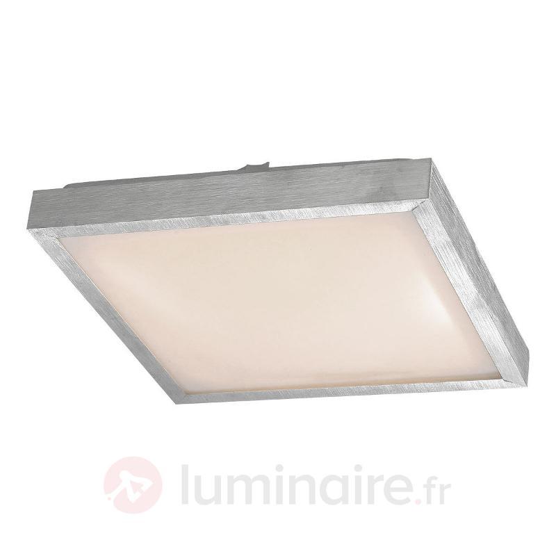 Plafonnier carré pour salle de bain LED Milano - Plafonniers avec détecteur