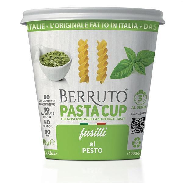 Fusilli With Pesto - null