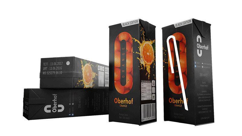 Orange Juice 200 ML Box - Fruit Juice   Oberhof Drinks