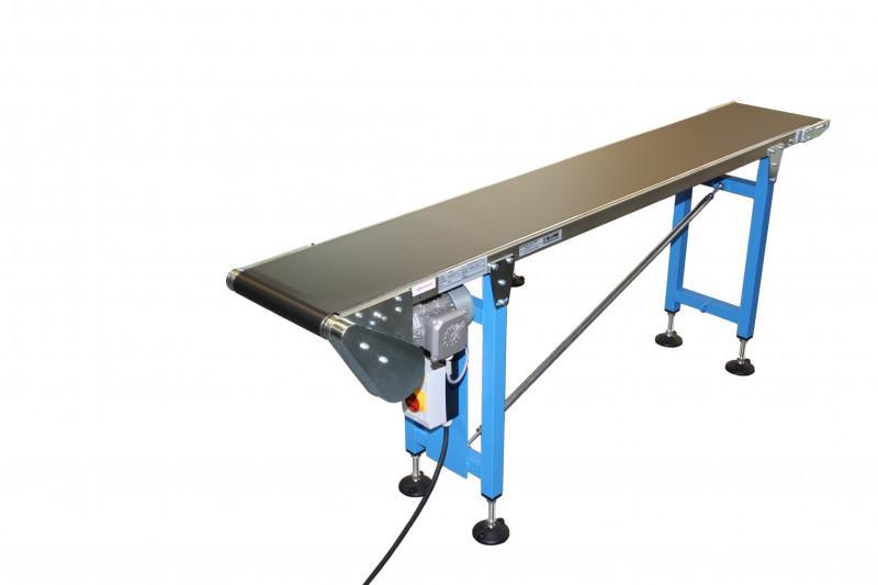 Gleitbandförderer für Gewicht bis 15 kg/m GF15.