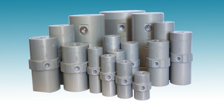 Piston Vibrators FPLF lub free - Lubrication-free pneumatic vibrators for linear vibration