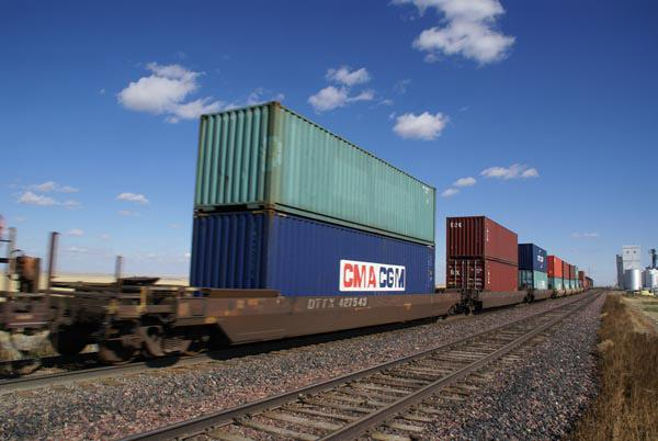 Container Train -