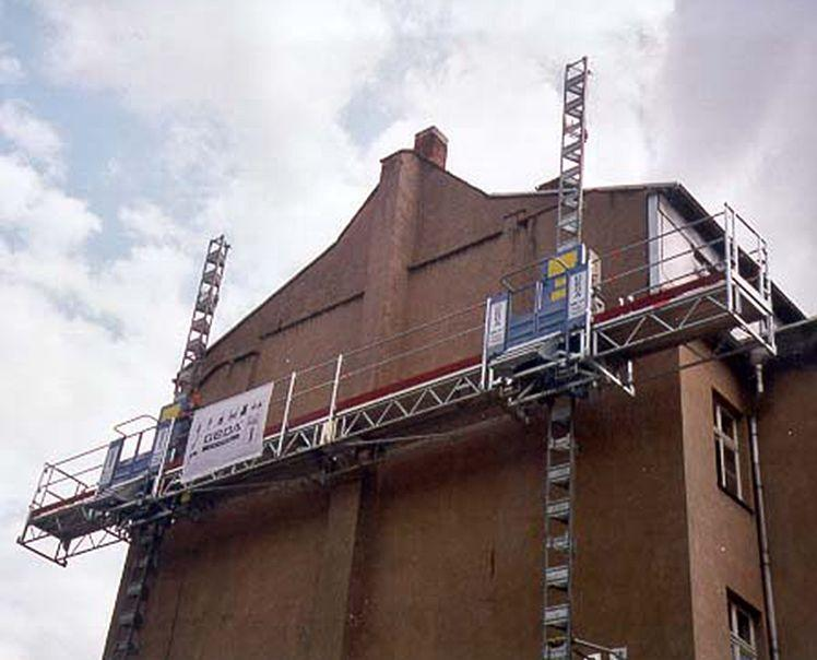 GEDA MCP 1500 - GEDA MCP 1500 - Mast Climbing Platforms